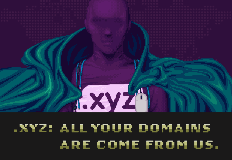.XYZ: All your domains are come from us