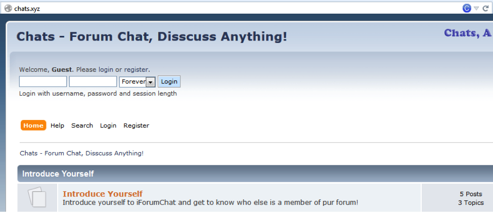 Chats - Forum Chat, Discuss Anything!