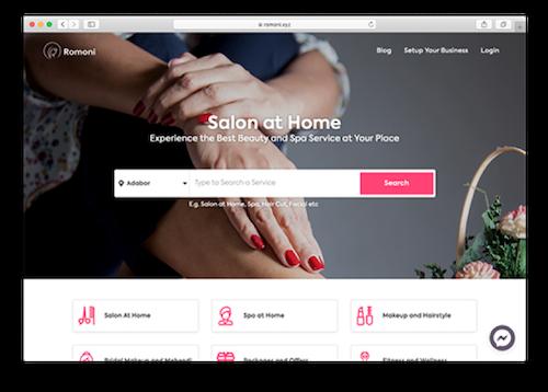 Romoni.xyz homepage